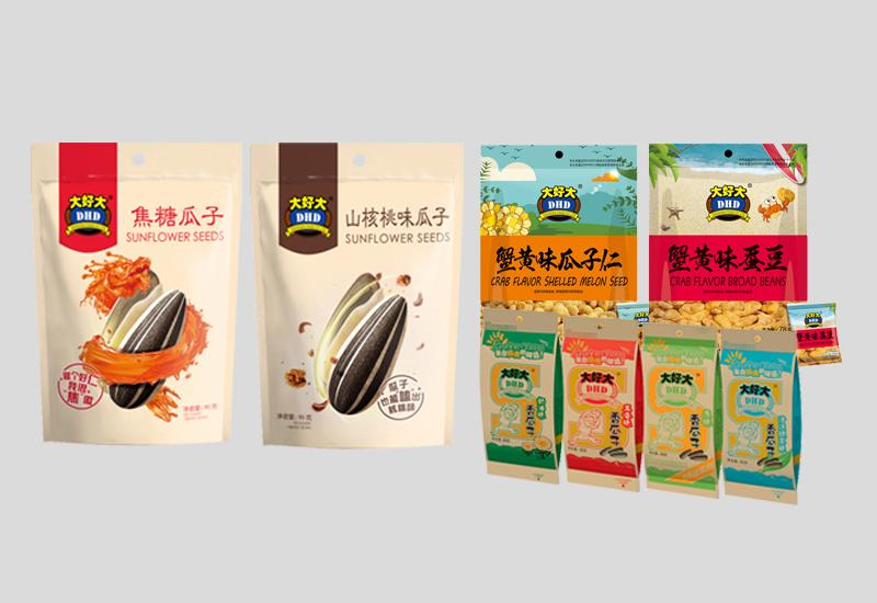 名瑞机械,糖果瓜子包装机,MR10-160H高速给袋式包装机样品展示