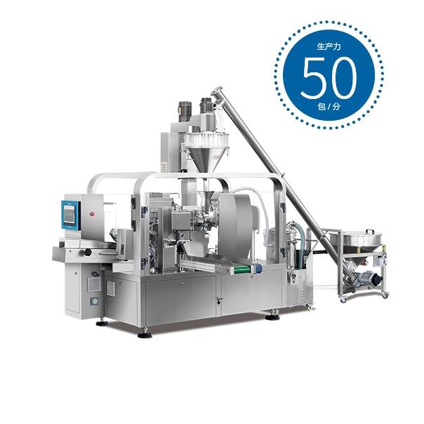 【名瑞机械】粉剂给袋式包装机,粉剂包装生产线演示视频。